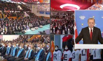 Pandemi kurallarının hiçe sayıldığı AKP kongreleri sürüyor