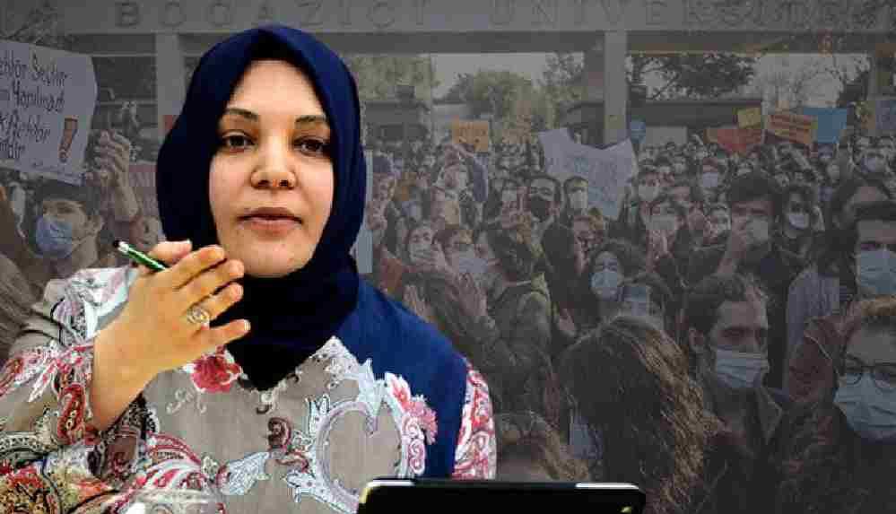 Pelikancı yazar Hilal Kaplan'dan Boğaziçi öğrencilerine destek veren siyasilere hakaret
