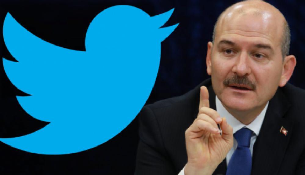 Soylu'nun 'sapkın' paylaşımına Twitter'dan 'nefret içerikli' uyarısı
