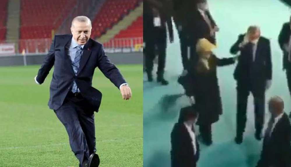 TRT spikerinden Erdoğan'ın o görüntülerine açıklama: Yahu adamın bel fıtığı var be!
