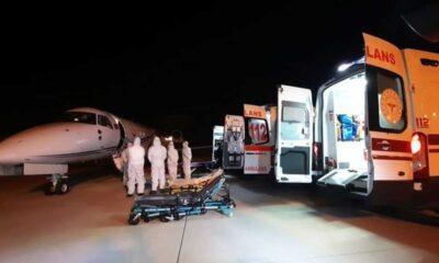 Tanzanya'da koronavirüse yakalanan 3 Türk vatandaşı yurda getirildi