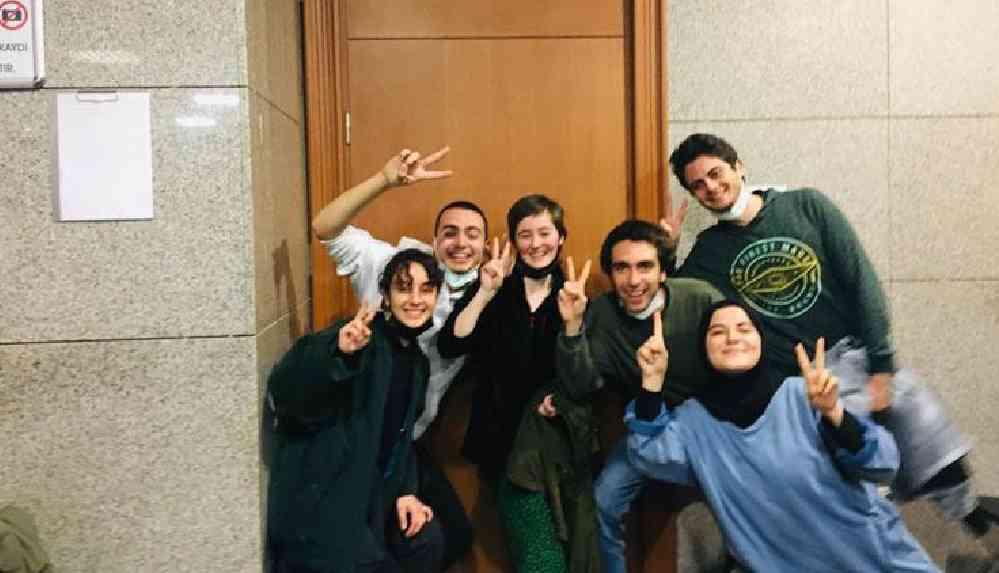 Tutuklamaya sevk edilen Boğaziçili öğrencilerin tamamı serbest bırakıldı