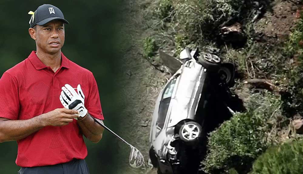 Ünlü Amerikalı golf yıldızı Tiger Woods trafik kazası geçirdi