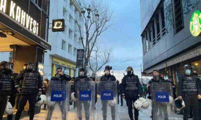 Valilikten Kadıköy'deki gösteriler hakkında açıklama: 5 kişi yakalandı