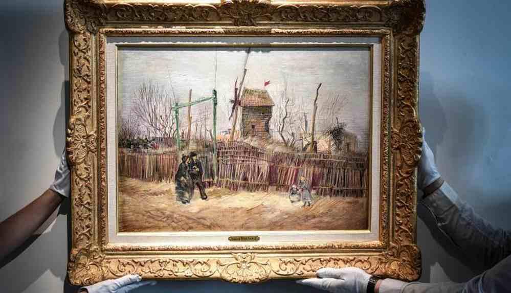 Van Gogh'un Paris dönemi tablosu 100 yıl sonra ortaya çıktı