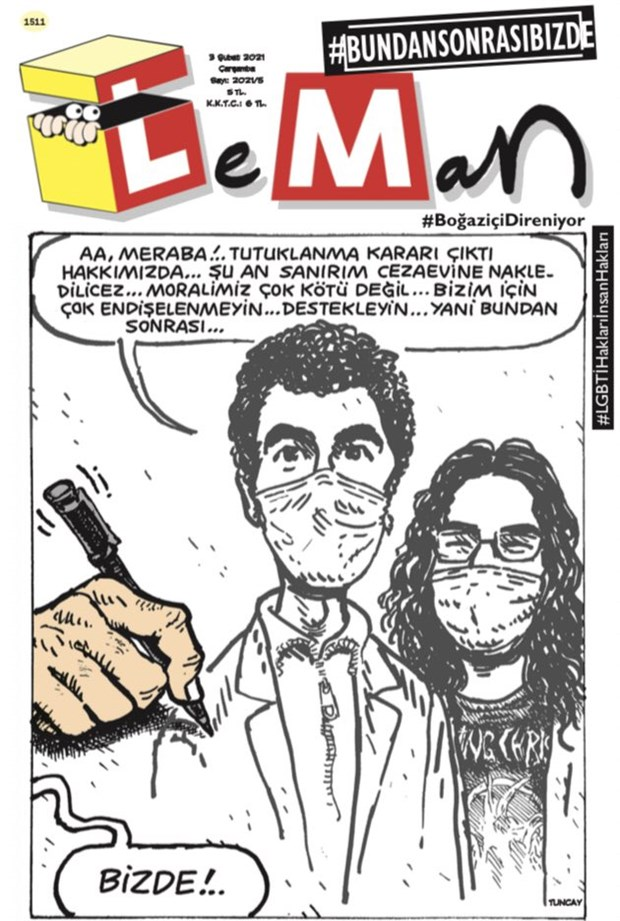 LeMan'dan Boğaziçi kapağı: 'Bundan sonrası bizde'