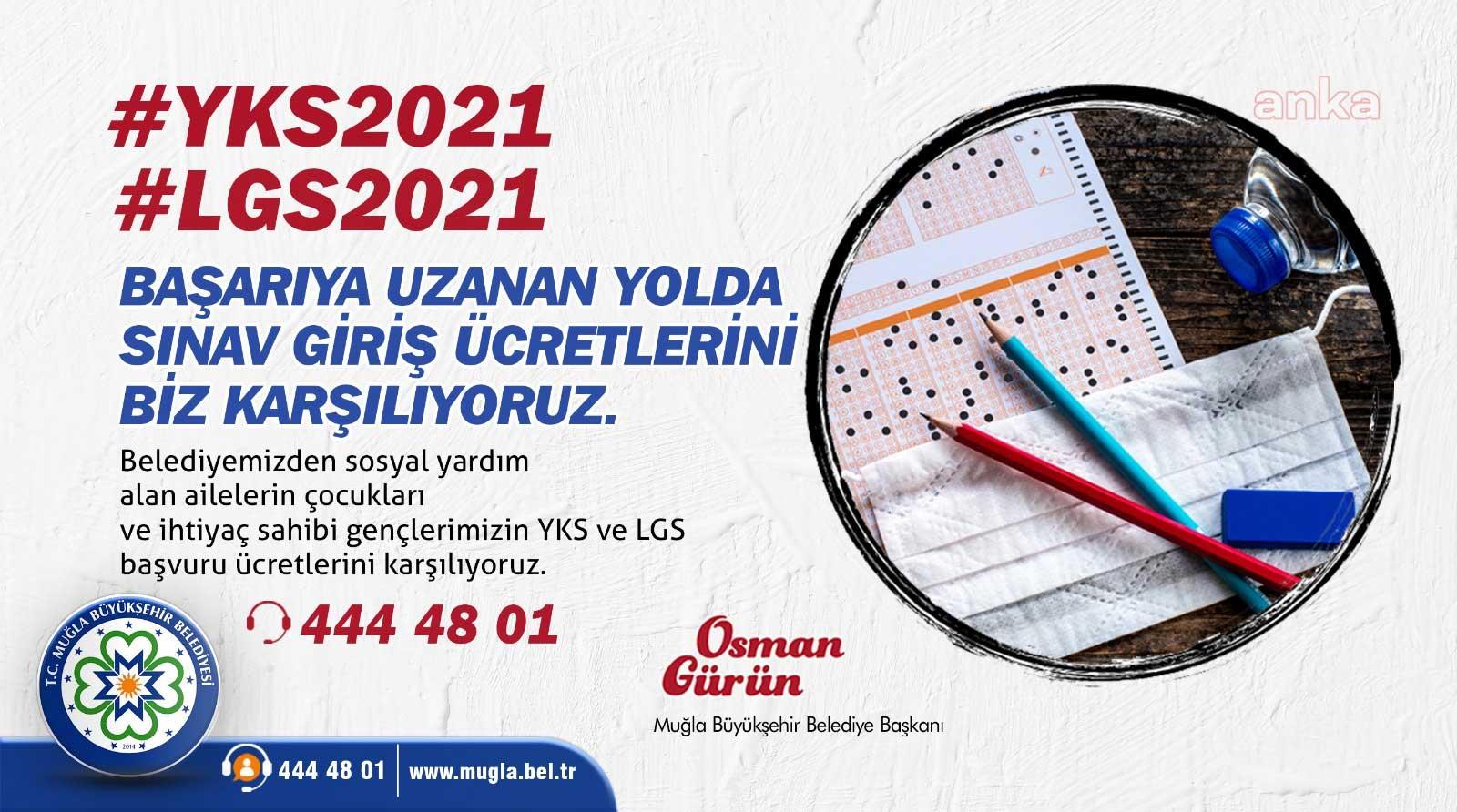 Muğla'da sınav ücretleri Büyükşehir'den