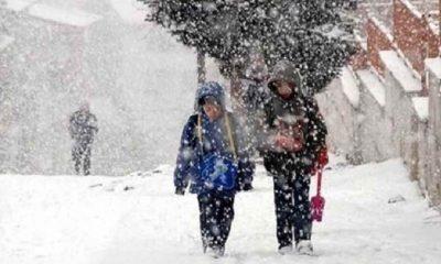 4 ilde yüz yüze eğitime kar engeli