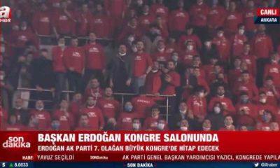 A Haber canlı yayımladı: Lebaleb dolu AKP Kongresinde inanılmaz görüntü