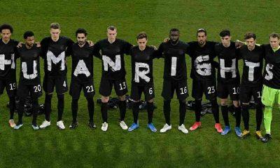 Almanya Milli Takımı futbolcularından Katar'a 'insan hakları' protestosu