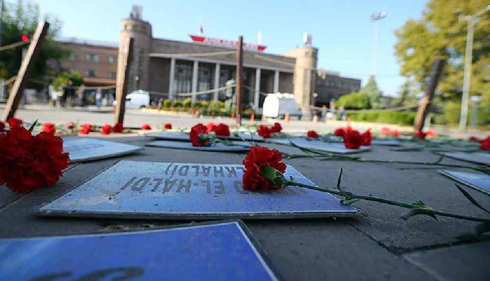 'Gar Katliamı' anmasına polis müdahalesi