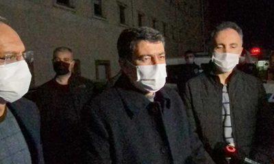 Ankara Valisi Vasip Şahin, Sakarya'da hastaneye kaldırıldı