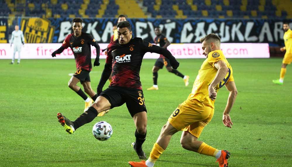 Ankaragücü, lider Galatasaray'ı iki golle devirip 8 maçlık galibiyet serisini sonlandırdı