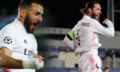 Benzema ve Ramos tarihe geçti