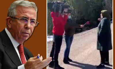 Beyaz TV'nin Mansur Yavaş aleyhindeki sahte röportajını köylüler bozdu