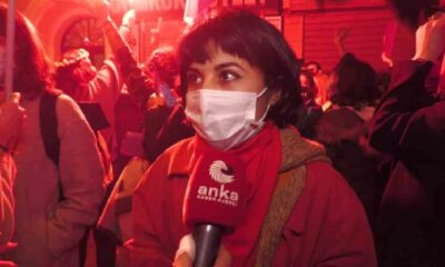 Boğaziçi eylemlerinde ev hapsine alınan kadınlar, kelepçeleri kırdı eyleme katıldı