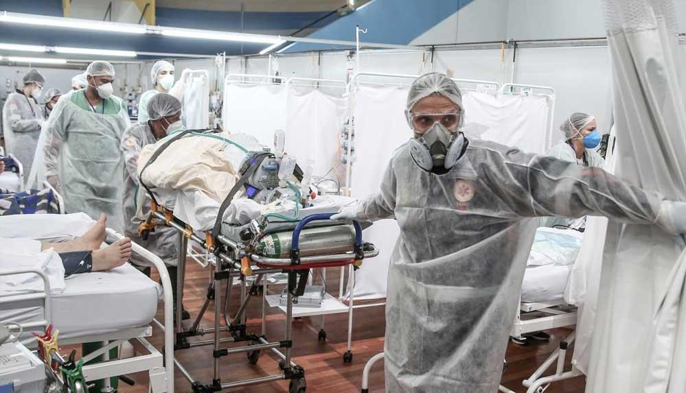 """Brezilya'nın sağlık sistemi Covid-19 salgını nedeniyle """"çökme noktasında"""""""