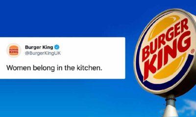 Burger King'den 8 Mart paylaşımının ardından özür geldi