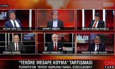 CNN Türk'te 'Atatürk' tartışması: Ben bu cahilce sözleri dinlemek zorunda mıyım?