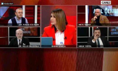 CNN Türk'te büyük tartışma: Canlı yayında 'cahil' kavgası