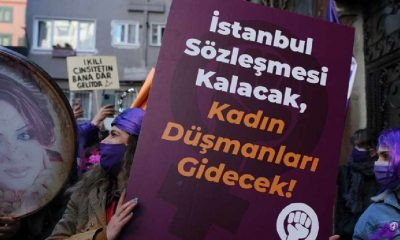 """Arzu Çerkezoğlu: """"İstanbul Sözleşmesi ve 6284 uygulansın, ILO 190 onaylansın…"""""""