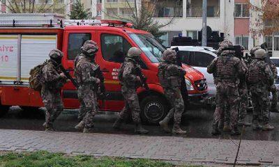 Diyarbakır'da 'rehine' operasyonu: Yaralılar var