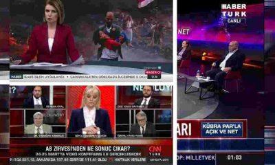 """Dolardaki yükselişe """"çözümü"""" TRT, CNN Türk ve Habertürk buldu: Döviz kuru barını kaldırdılar"""