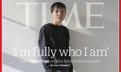 Elliot Page 'tarih yazdı': Time'ın kapağında ilk trans erkek