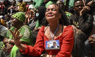 Eski Tanzanya Devlet Başkanı Magufuli'nin cenazesinde izdiham: 4'ü çocuk 5 kişi hayatını kaybetti
