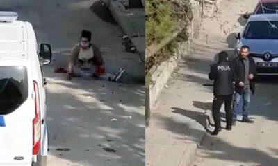 Eski eşini sokak ortasında 12 yerinden bıçaklayıp ağır yaraladı