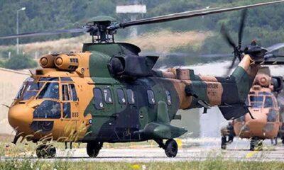 Bitlis'te düşen askeri helikoptere ilişkin MSB'den açıklama