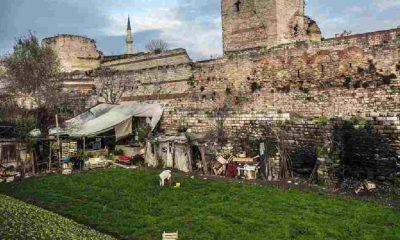 Fatih Belediyesi'nden, 1500 yıldır kentsel tarım alanı olarak kullanılan araziye tesis yapma isteği