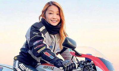 Fenomen olan 'kadın motorcu', 50 yaşındaki bir erkek çıktı