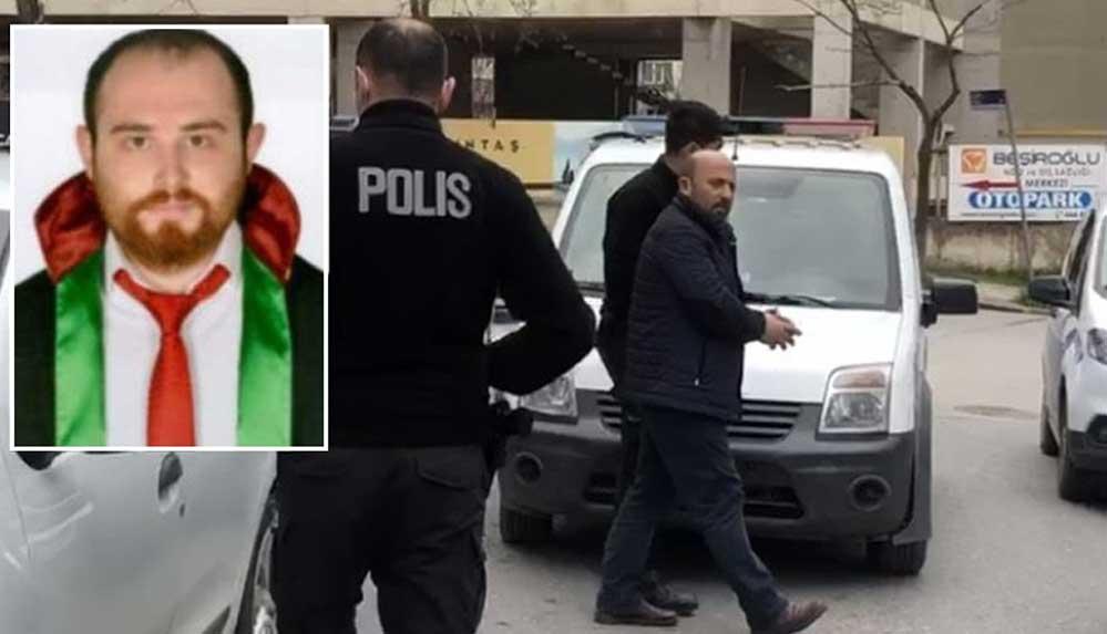 İcraya gelen avukat Ersin Arslan'ı öldüren zanlı tutuklandı