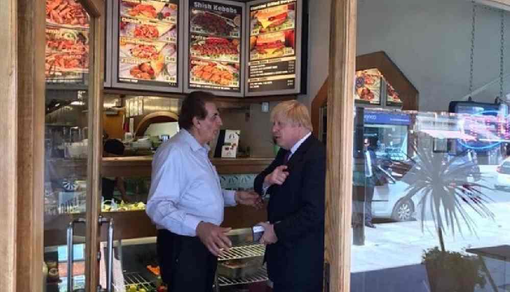 İngiltere Başbakanı Boris Johnson: En sevdiğim sağlıklı yiyecek kebap