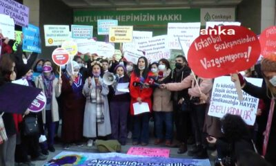 Kadınlar Ankara'dan ses verdi: Haklılığımızı yok etmeye çalışan iktidara karşı sokaklardayız