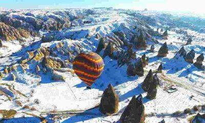 Kapadokya'yı son iki ayda 93 bin turist ziyaret etti