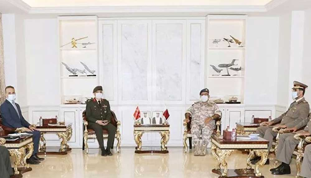 Katar ve Türkiye arasında askeri işbirliği