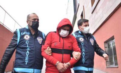 Kayseri'de eski eşini öldüren erkek tutuklandı