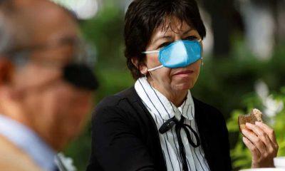 Meksika'daki araştırmacılar burun maskesi tasarladı: Yeme içme sırasında işe yarıyor