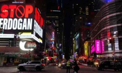 New York'taki Erdoğan ilanına AK Parti'den tepki