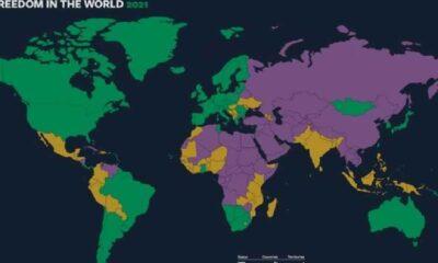 Özgürlükler raporunda Türkiye en çok gerileyen ikinci ülke