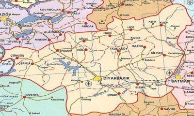 Resmi Gazete'de yayımlandı: Cumhurbaşkanı kararıyla Diyarbakır il sınırı değişti
