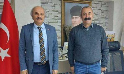 Saadet Partisi'nden Tunceli Belediye Başkanı Maçoğlu'na ziyaret
