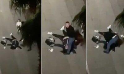 Samsun'da çocuğunun gözü önünde öldüresiye dövülen kadının görüntüleri sosyal medyayı ayağa kaldırdı