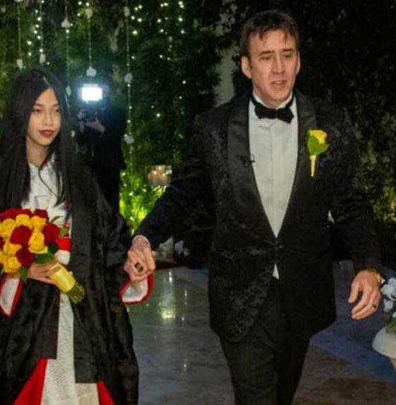 Son evliliği 4 gün süren Nicolas Cage, 26 yaşındaki Riko Shibata'yla evlenerek 5. kez dünya evine girdi