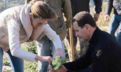 Suriye lideri Esad ile eşinin koronavirüs testi pozitif çıktı