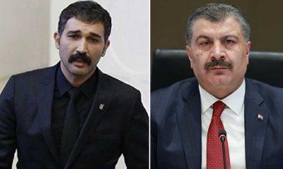 TİP Milletvekili Barış Atay'dan Sağlık Bakanı Koca'ya: Yüzsüz