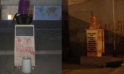 Tekirdağ'da iki okulda daha Atatürk büstüne saldırı