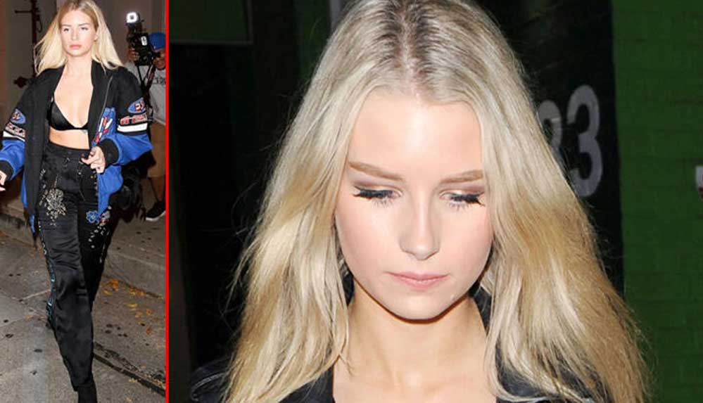 Ünlü modelin çıplak fotoğraflarını internette sattığı ortaya çıktı